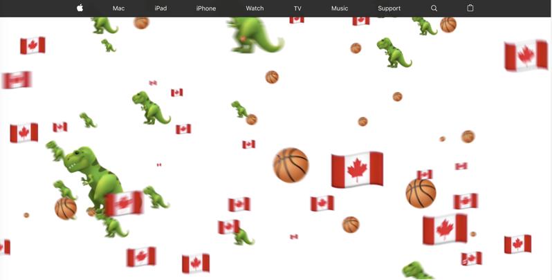 Apple canada raptors