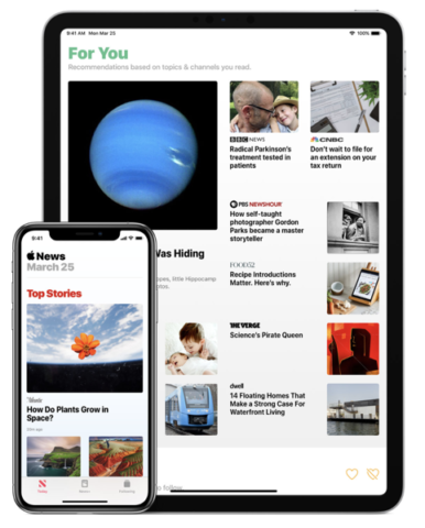 Apple News+ Allows Some Publishers to Set Their Own Monthly Subscriptions