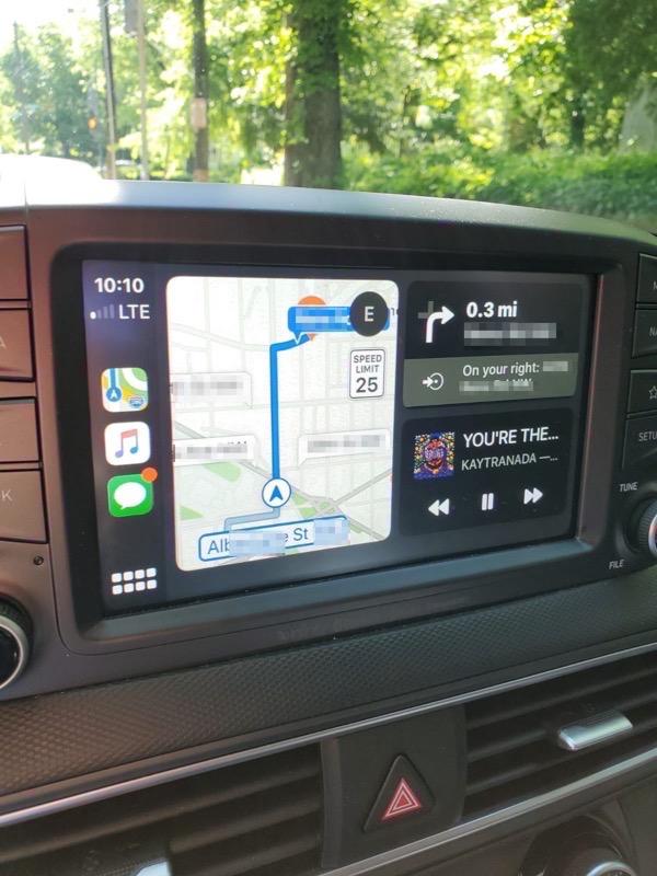 Carplay apple maps ios 13