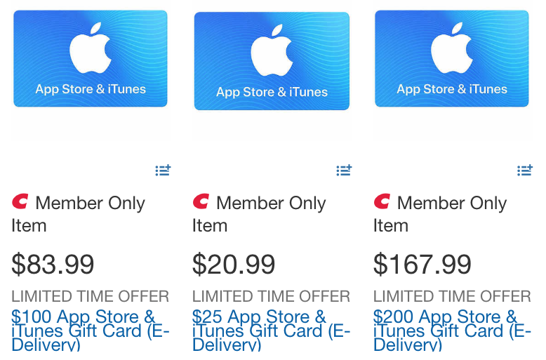 Costco itunes card sale june 10 2019
