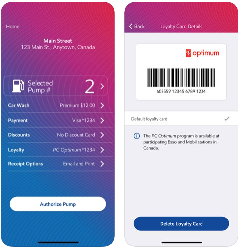 Esso speedpass ios app pc optimum