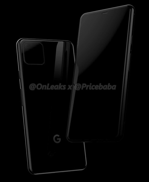 Google pixel 4 onleaks 1