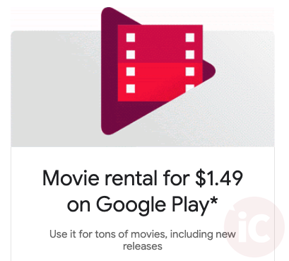 Google play movie rental