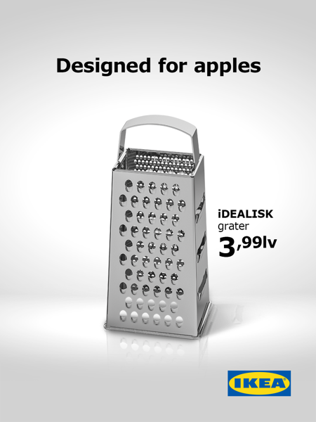 Ikea designed for apples