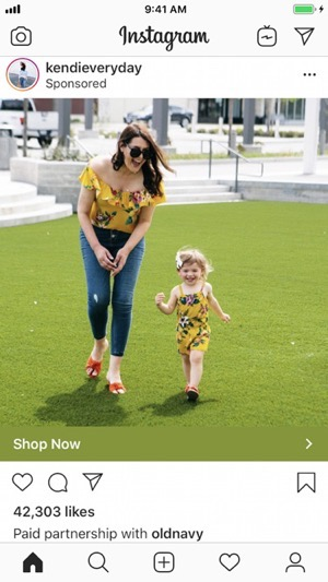 Instagram branded content ads 2