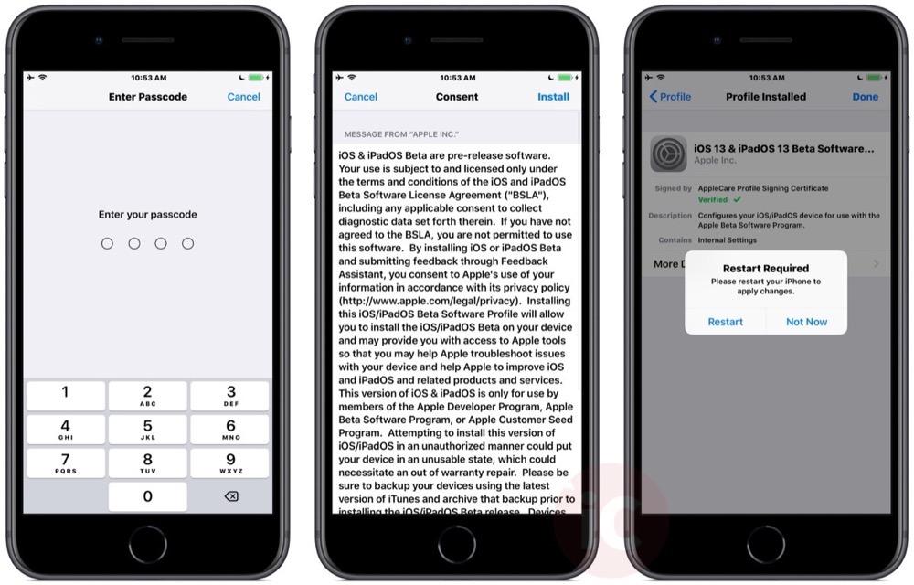Install ios 13 beta iphone 2