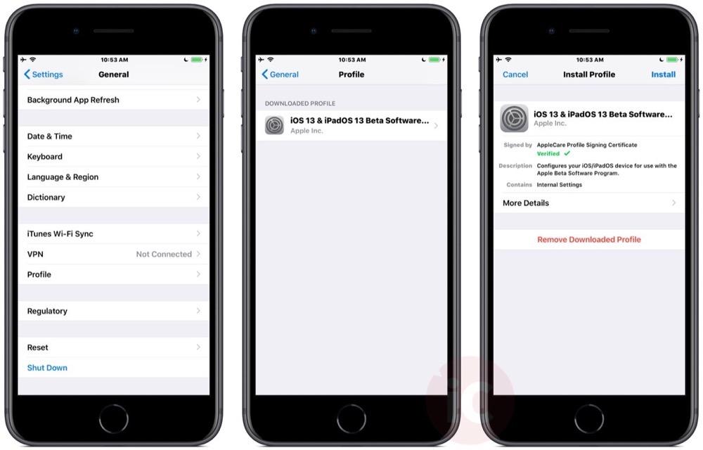 Install ios 13 beta iphone