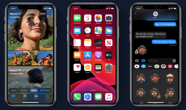 Ios 13 dark mode 1