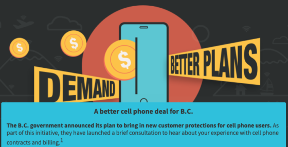 OpenMedia Petition Calls for Better Cellphone Plans and Practices for B.C.