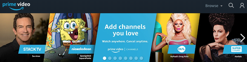 Prime video channels canada