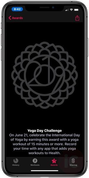 Yoga day challenge phone