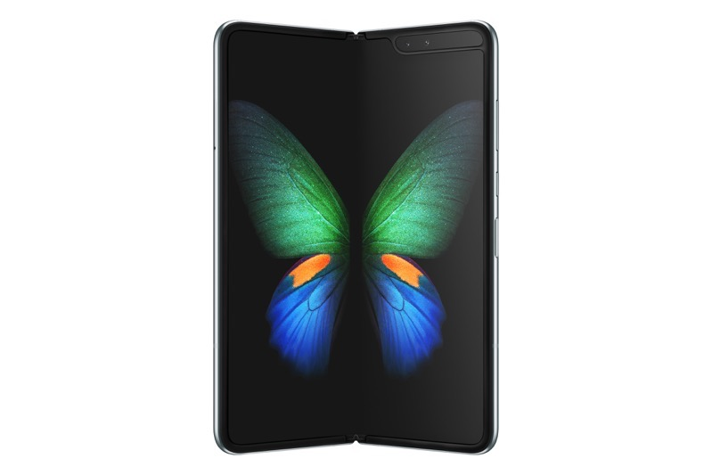 Galaxy Fold Space Silver Front2