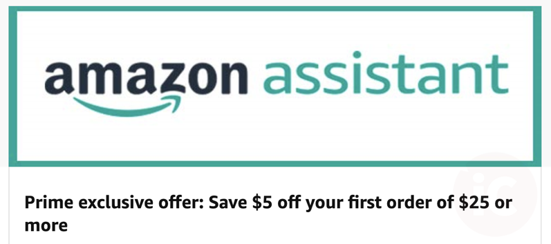 Amazon assistant prime offer
