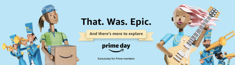 Amazon prime day epic