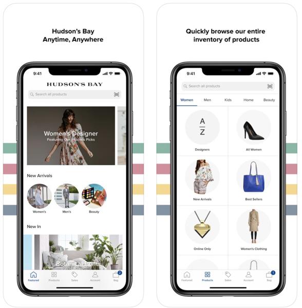 Hudson s bay ios app
