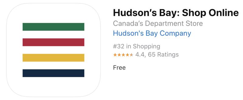 Hudson s bay