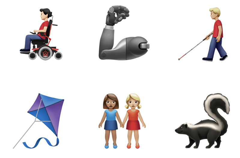 Ios 13 emojis kite