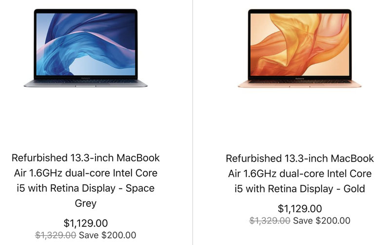 Refurbished 13 3 macbook air 2018