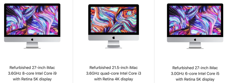 Refurbished imac 2019 canada