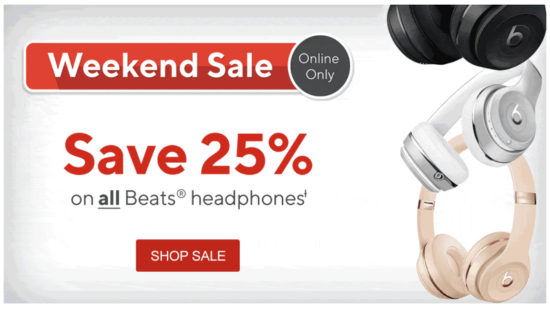 Staples 25 off beats