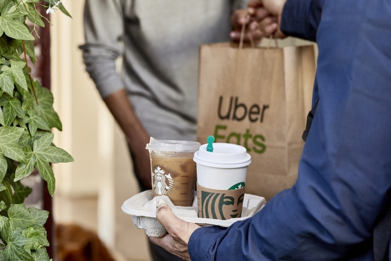 Starbucks Canada Announces Delivery Service via Uber Eats in Toronto, Calgary, Vancouver