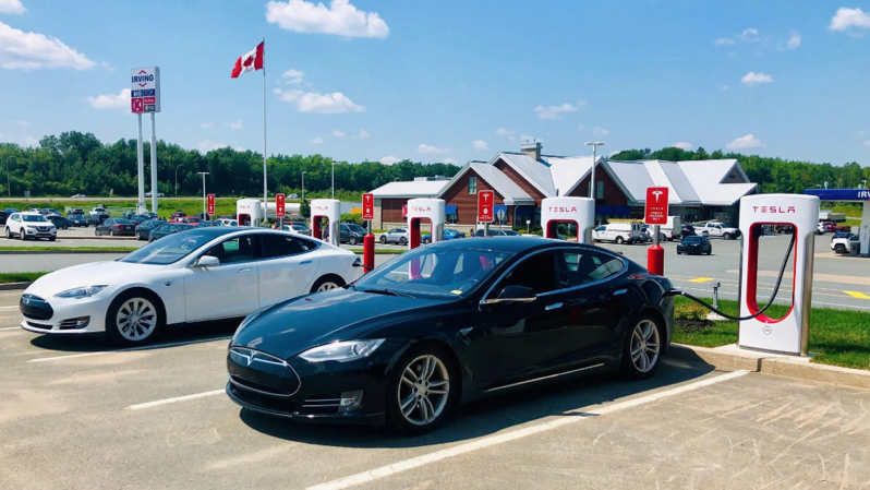 Tesla supercharger enfield nova scotia