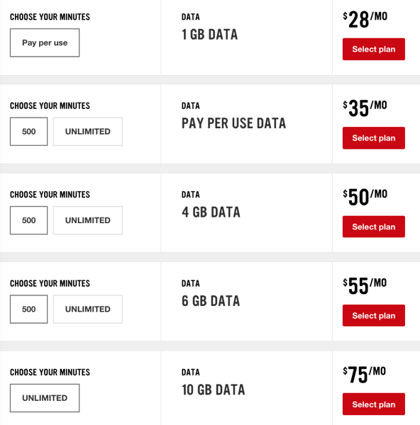 Virgin mobile $75 10gb plan