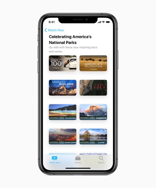 Apple Introduces New Ways for Customers to Enjoy America's National Parks