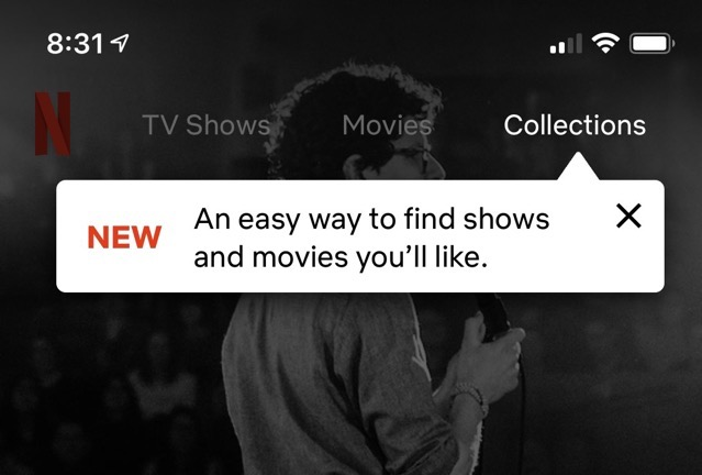 Netflix Testing New 'Collections' Feature on iOS Devices
