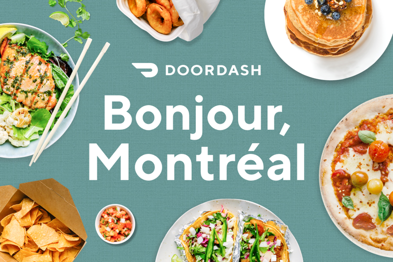 Montreal doordash Launch