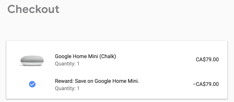 free google home mini speaker