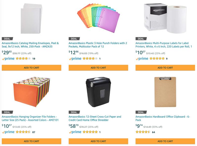 Amazonbasics sale