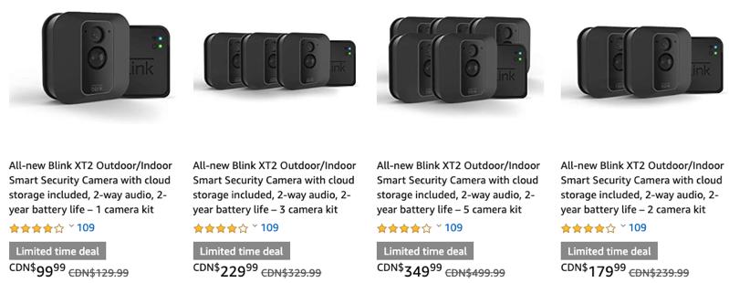 Blink xt2 camera sale