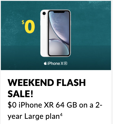 Fido Sale: iPhone XR for $0 Upfront with $75/10GB Plan for Freedom Mobile Customers