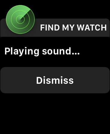Find my watch mac
