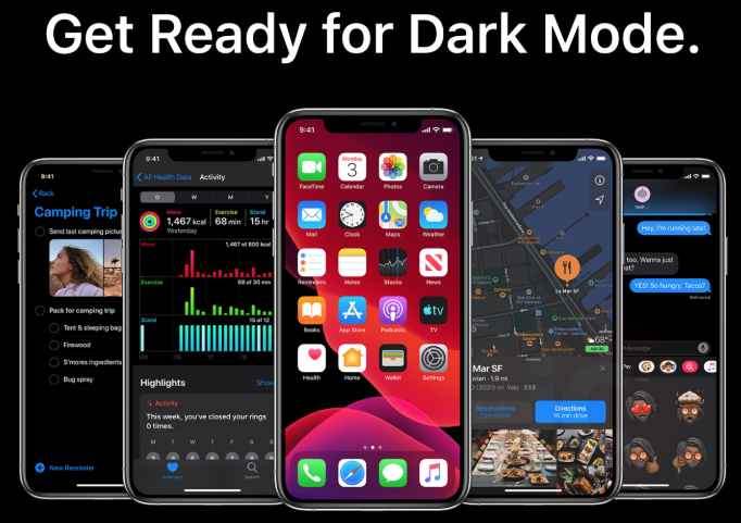 Get ready for dark mode