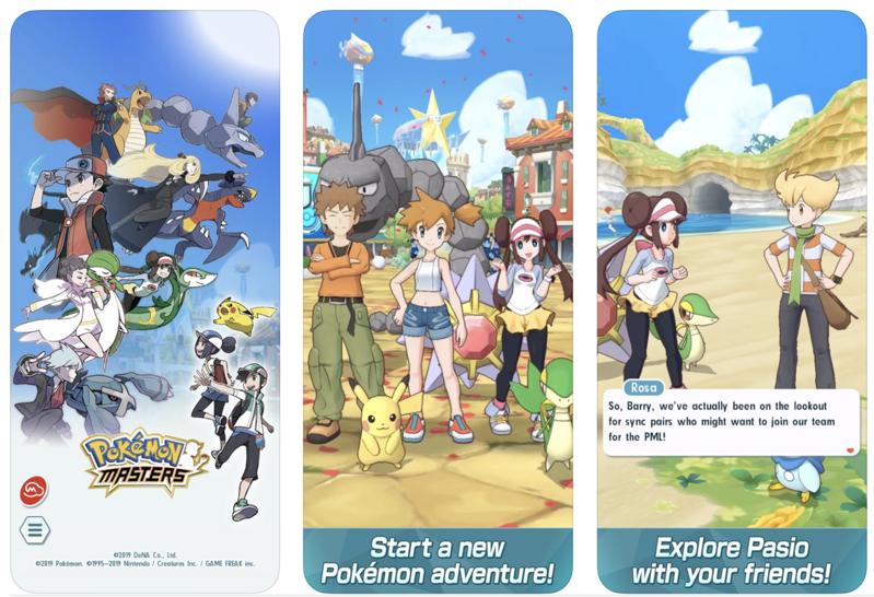 Pokemon masters ios 3