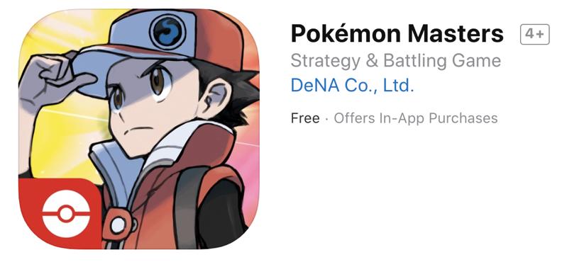 Pokemon masters ios