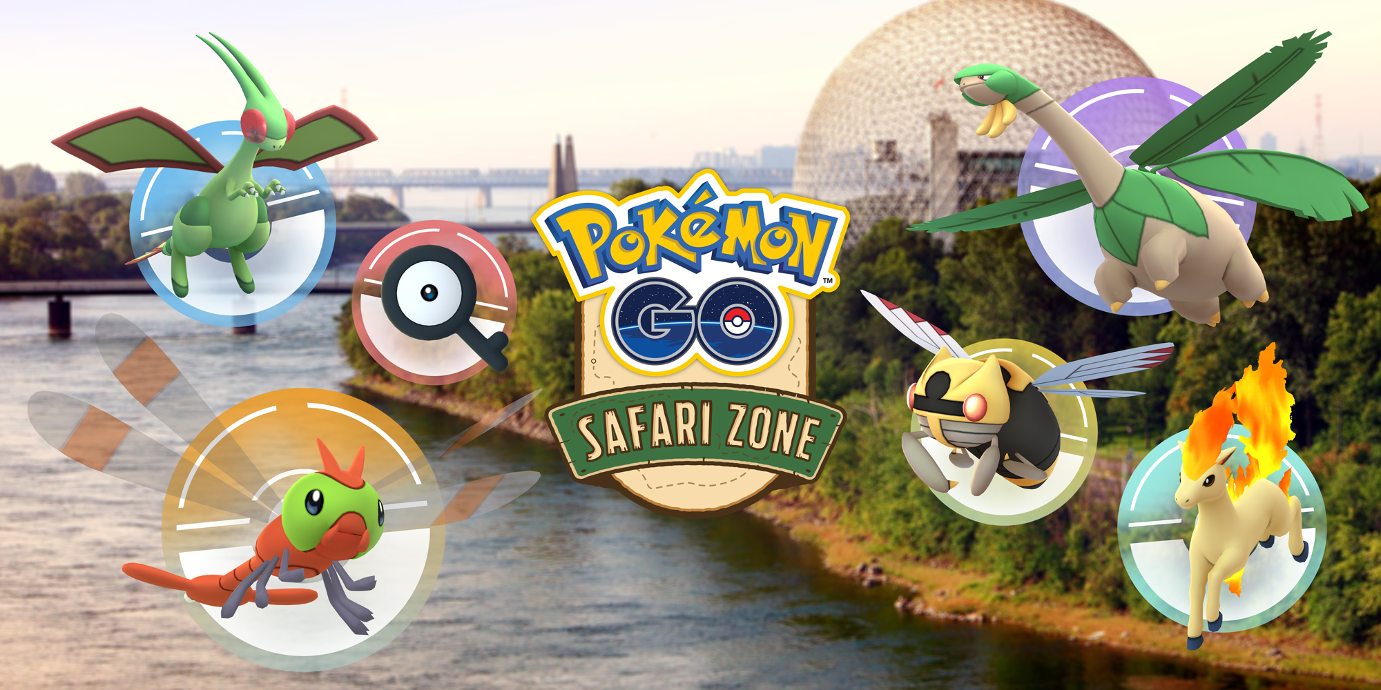 Next Pokémon GO Safari Zone Event to be Held in Montreal in September