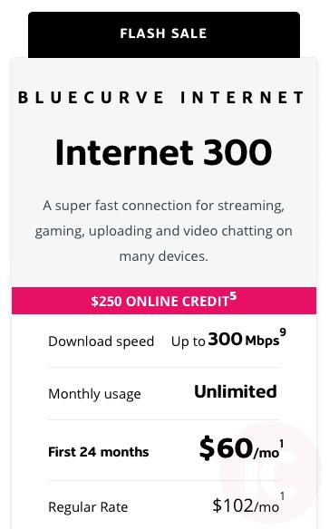 Shaw internet 300 promo
