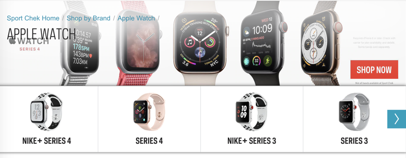 Sport chek apple watch