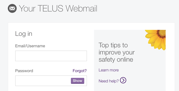 telus net email on iphone