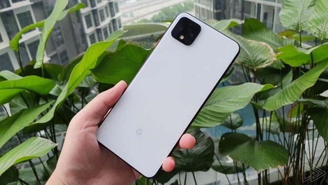 Pixel 4 Clearly White Back