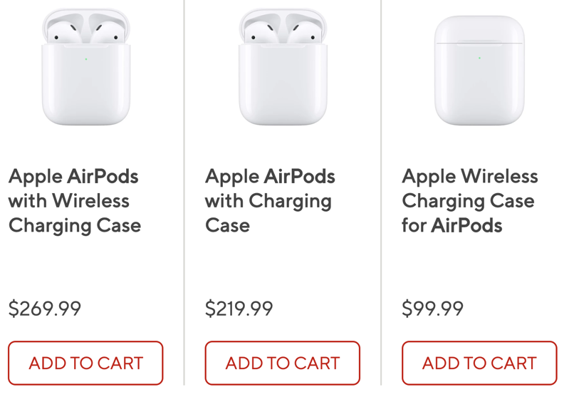 Airpods staples