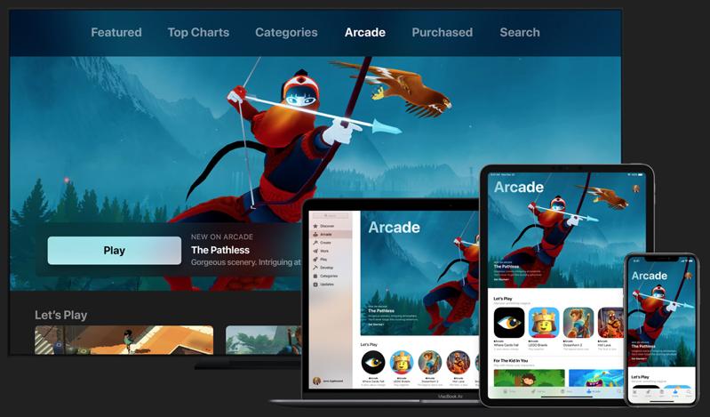 Apple arcade launch canada