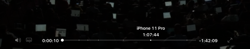 Apple iphone 11 event replay
