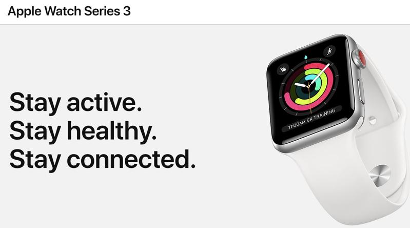 Apple watch series 3 2019
