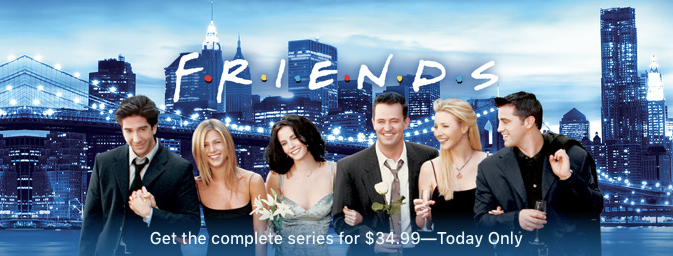 Friends complete season 34 99 itunes