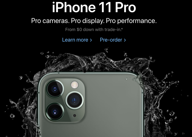 Iphone 11 pro pre ordere