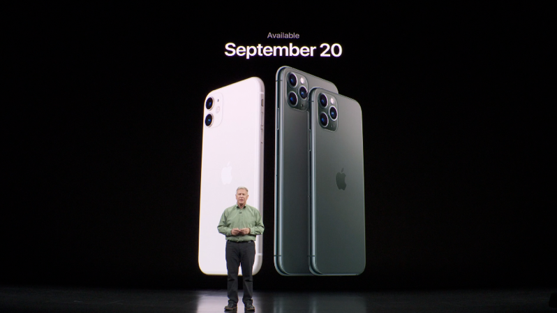 Iphone 11 pro september 20